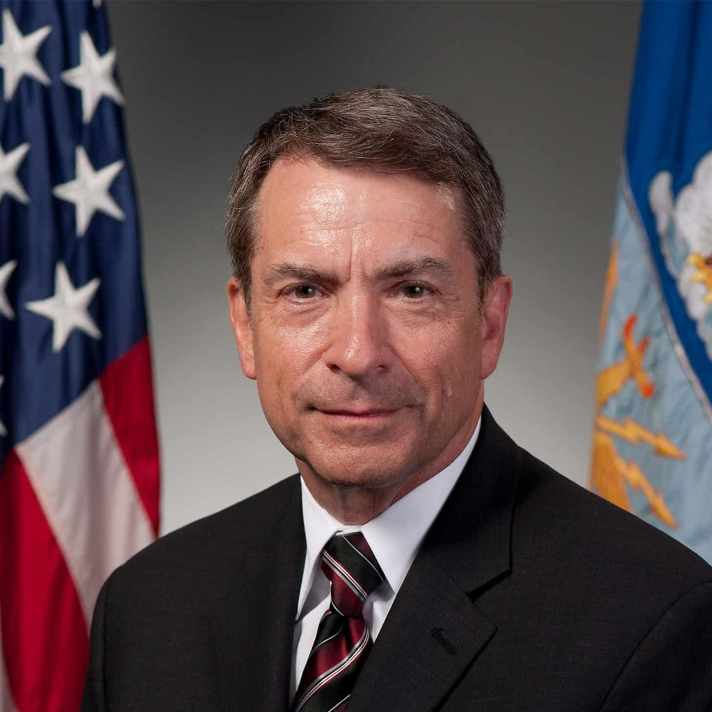 The US Air Force's Chief Technology Officer, Frank Konieczny